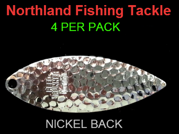 Northland Tackle WILLOWLEAF BLADES size 5 #046