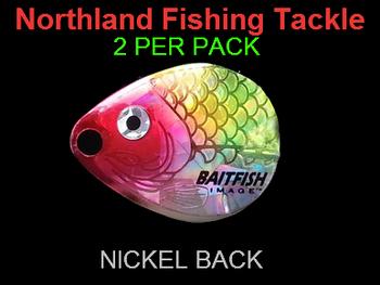 Northland Tackle COLORADO BLADES size 2 #048