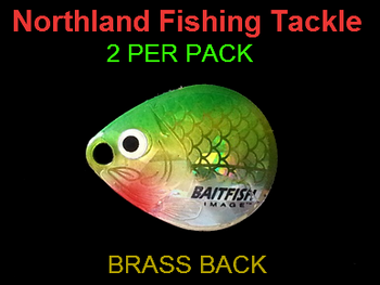 Northland Tackle COLORADO BLADES size 2 #049