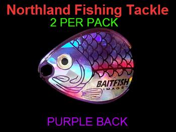 Northland Tackle COLORADO BLADES size 2 #050