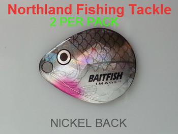 Northland Tackle COLORADO BLADES size 2 #051