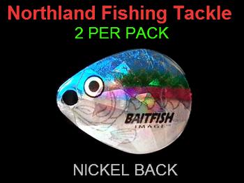 Northland Tackle COLORADO BLADES size 2 #054