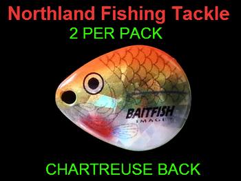 Northland Tackle COLORADO BLADES size 2 #055