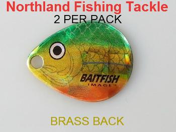 Northland Tackle COLORADO BLADES size 2 #056