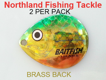 Northland Tackle COLORADO BLADES size 5 #118