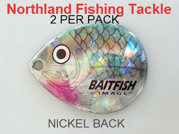 Northland Tackle COLORADO BLADES size 5 #119