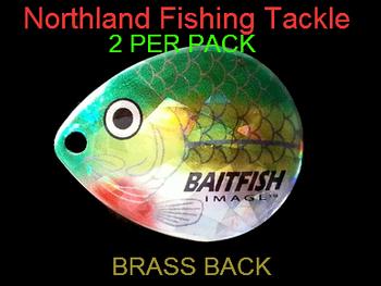 Northland Tackle COLORADO BLADES size 5 #122