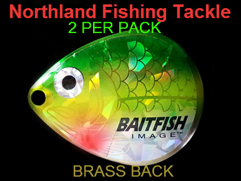 Northland Tackle COLORADO BLADES size 5 #127