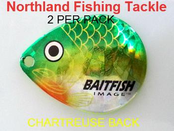 Northland Tackle COLORADO BLADES size 5 #128
