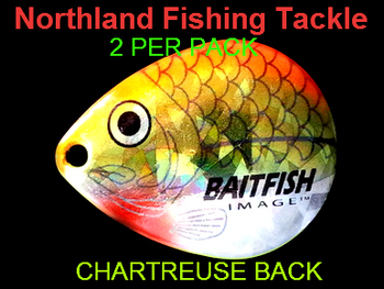 Northland Tackle COLORADO BLADES size 6 #130