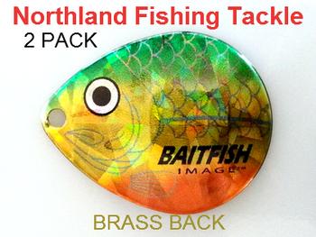 Northland Tackle COLORADO BLADES size 6 #135