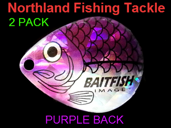 Northland Tackle COLORADO BLADES size 6 #138