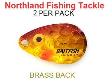 Northland Tackle INDIANA BLADES size 2 #154