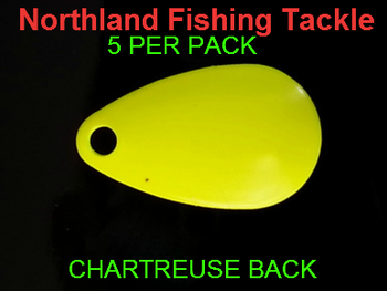 Northland Tackle INDIANA BLADES size 2 #155