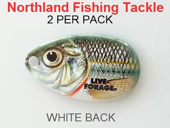 Northland Tackle INDIANA BLADES size 4 #157