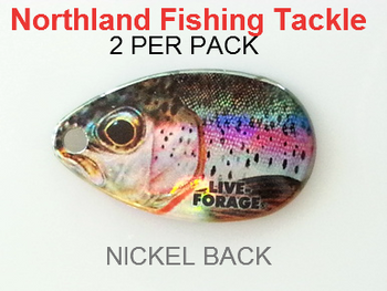 Northland Tackle INDIANA BLADES size 4 #158