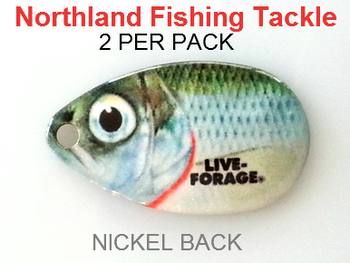 Northland Tackle INDIANA BLADES size 4 #160