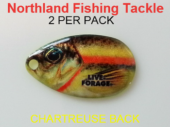 Northland Tackle INDIANA BLADES size 4 #164