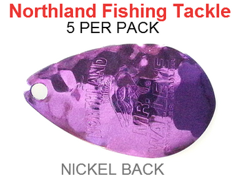 Northland Tackle INDIANA BLADES size 6 #171