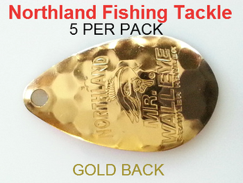 Northland Tackle INDIANA BLADES size 6 #172