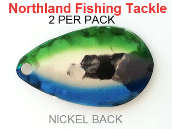 Northland Tackle INDIANA BLADES size 6 #174