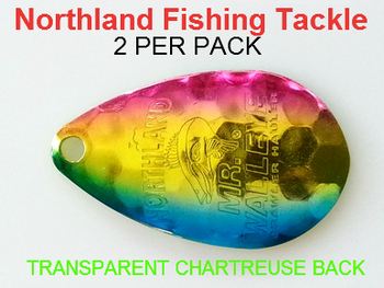 Northland Tackle INDIANA BLADES size 6 #176