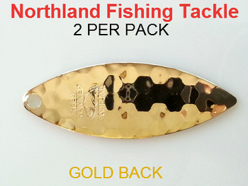 Northland Tackle WILLOW BLADES size 4 1/2 #180