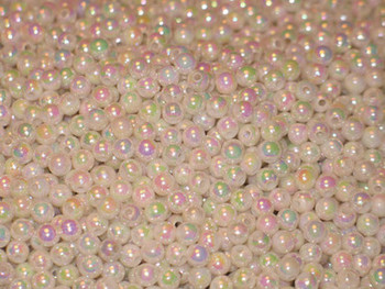 JT 6mm PEARLIZED OPAQUE WHITE 100/PK