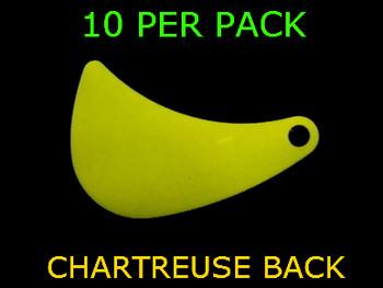 HATCHET blades #4.5 CHARTRUESE