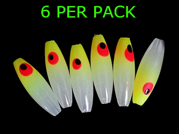 Lure Beads MINNOW GLOW/CHARTREUSE