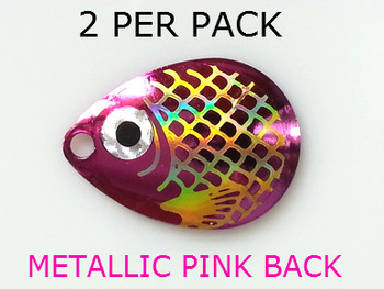 COLORADO blades # 3 BAITFISH METALLIC PINK