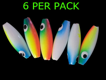 Lure Beads MINNOW WHITE CITRIS