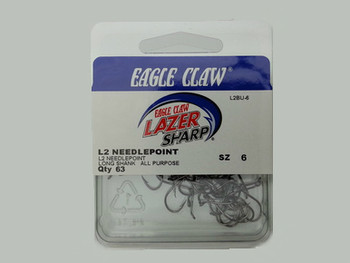 EAGLE CLAW LAZER SHARP OPCTOPUS HOOKS for Lindy Rigs for walleye harnesses and walleye fishing