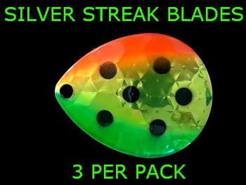 Silver Streak Blades Colorado #4 Antifreeze Mellon