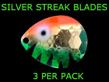 Silver Streak Blades Colorado #4 Golden Perch