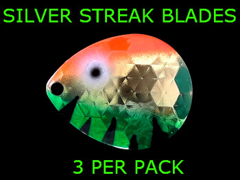 Silver Streak Blades Colorado #4 Golden Perch