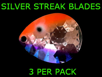 Silver Streak Blades Colorado #6 for Lindy rigs