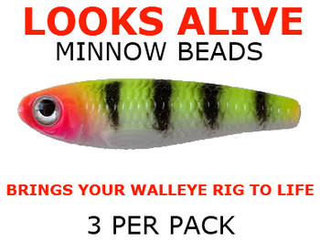 Looks Alive Minnow Beads PSYCHO TIGER