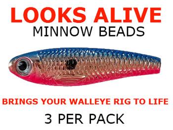 Looks Alive Minnow Beads METALLIC COPPER BOY/GIRL