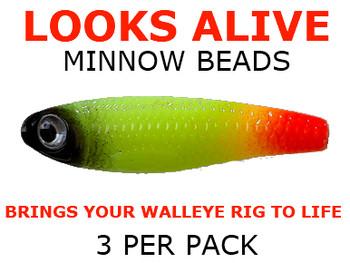 Looks Alive Minnow Beads HALLOWEEN