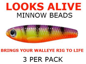Looks Alive Minnow Beads HAWAIIAN TIGER
