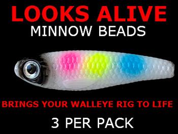 Looks Alive Minnow Beads MIDNIGHT WONDERBREAD