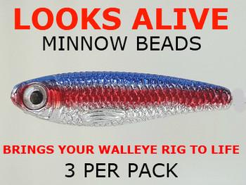 Looks Alive Minnow Beads NEON TETRA