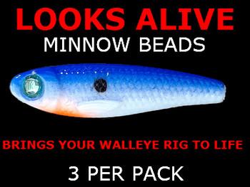 Looks Alive Minnow Beads BLUE BAYOU MINNOW