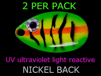 indiana blades #5 UV great for walleye spinner rigs
