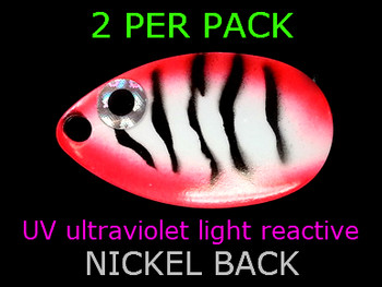 indiana blades #5 UV great for lindy walleye spinner rigs