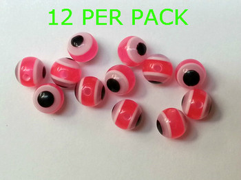 LURE BEADS 8MM PINK