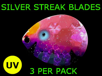 Silver Streak Blades Colorado #5 UV Pink Perch