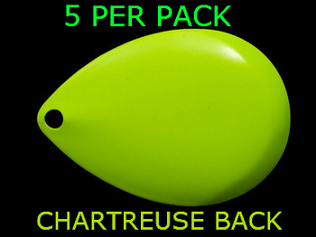COLORADO spinner blades #8 CHARTREUSE