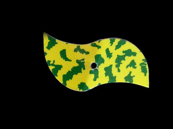 mylar walleye spinner blade